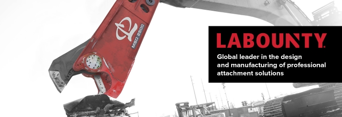 LaBounty Global leader in attachment solutions