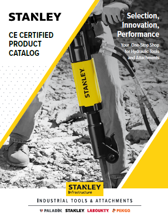 Stanley CE certified products catalog