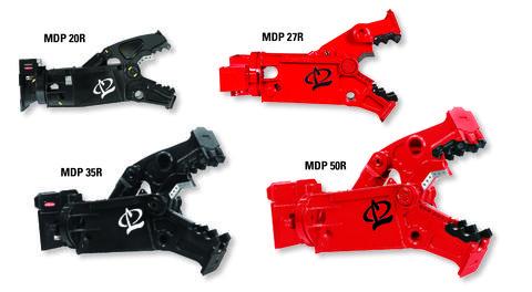 MDP27R, MDP 35R, MDP50R