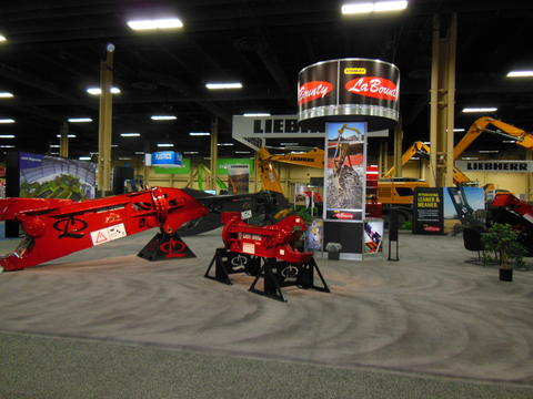 Stanley LaBounty Booth at ISRI 2014